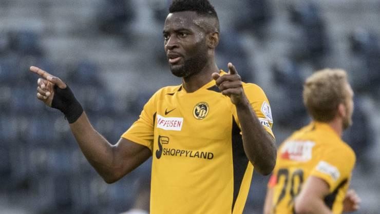 Jean-Pierre Nsame darf für YB gegen Basel wieder auf den Platz zurückkehren