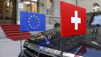 """Laut einer Meldung der """"NZZ am Sonntag"""" würden derzeit rund 60 Prozent der Bevölkerung das institutionelle Rahmenabkommen mit der EU befürworten. (Archivbild)"""
