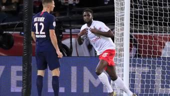 Thomas Meunier (12) kassierte mit PSG die erste Heimniederlage seit Mai 2018. Boulaye Dia traf in der Nachspielzeit zum 2:0.