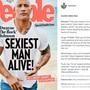 """Ist laut dem Magazin """"People"""" derzeit der erotischste Mann auf Erden: Dwayne Johnson (Bild: Instagram)"""