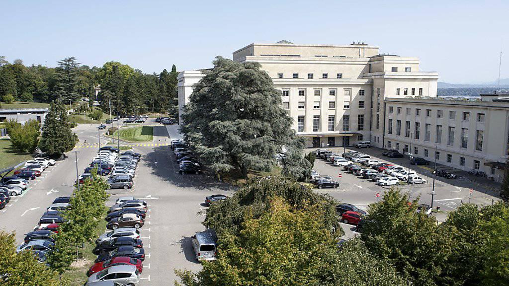 Dem Nationalrat ist die Rolle der Schweiz als Gaststaat zahlreicher internationaler Organisationen wie der Uno in Genf (Bild) bewusst. Er will den Standort mit 112 Millionen Franken weiter fördern. (Archivbild)