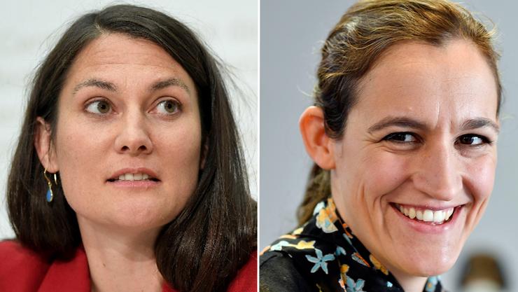 Tiana Angelina Moser (GLP) ist Umweltwissenschafterin und Fraktionschefin im Nationalrat. Marionna Schlatter (Grüne) ist Soziologin, Kantonsrätin und kantonale Parteipräsidentin.