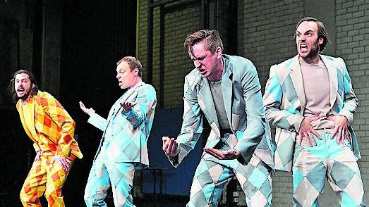 «Die drei Musketiere» sorgten am Theater Basel für Furore.