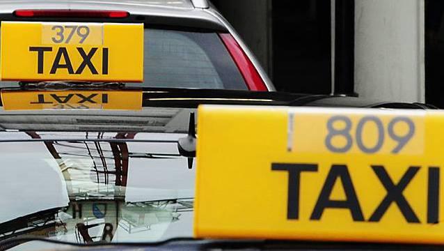 Taxis in Zürich (Symbolbild)