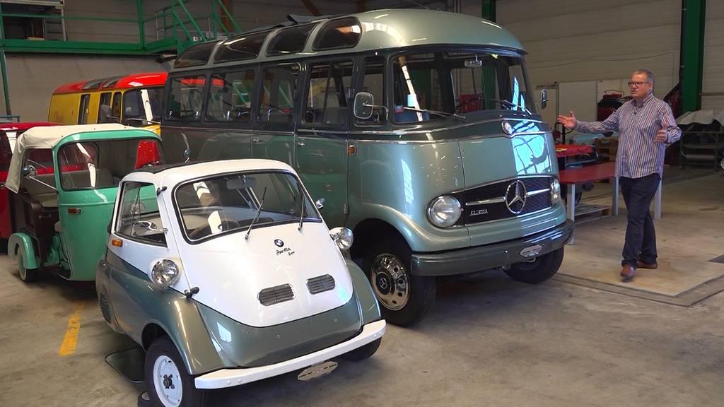 Oldtimer-Liebe: 1 Mann und seine 129 Autos