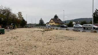 Die Migros will an der Landstrasse ein Provisorium errichten.
