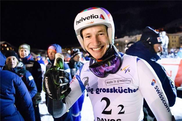 Der Goldjunge: Der fünffache Juniorenweltmeister Marco Odermatt aus Buochs.