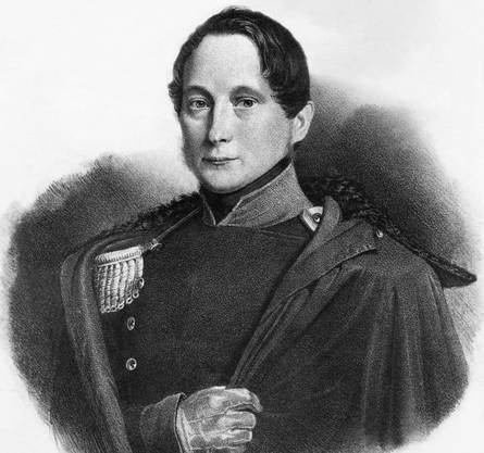 Der Freisinnige Friedrich Frey-Herosé war der erste Aargauer im Bundesrat. Er war von 1848 bis 1866 im Amt.