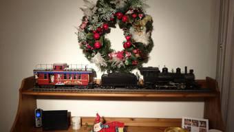 Der Weihnachts-Zug in Möhlin