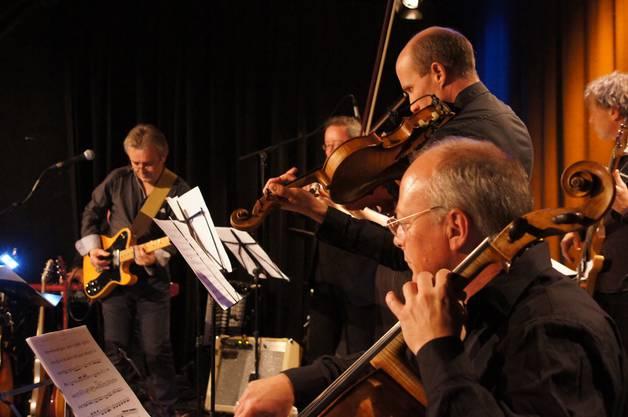 Die Magischen Momente auf der Bühne entstehen auf der Bühne beim Improvisieren, weiss Bandleader Richard Köchli.