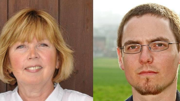 Anne Hoppler und Christoph Mathis kandidieren für das Amt des Gemeindeammann.