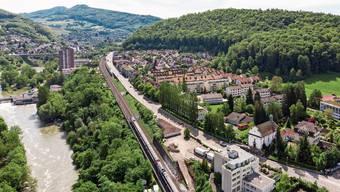 Am Ende des Kappelerhofs (oben) soll ein Tunnelportal entstehen.