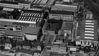 Früher eine «verbotene Stadt»: Das BBC-Areal in Baden um 1965.