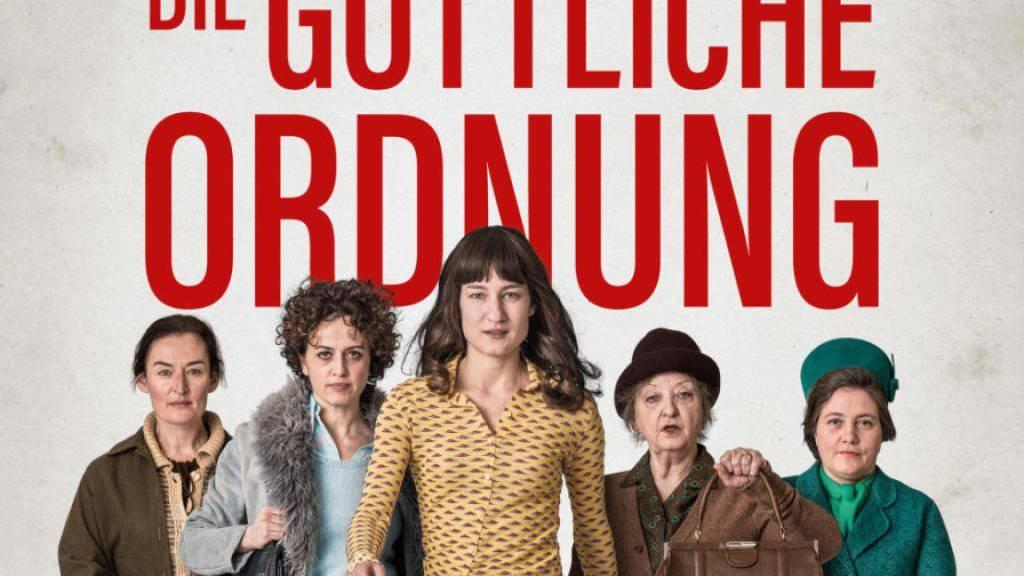 """Der Spielfilm """"Die göttliche Ordnung"""" eröffnet am 19. Januar die Solothurner Filmtage. (Pressebild)"""