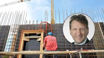 Roland Dubach, Finanzchef der Anliker-Gruppe spricht im Interview über den Lohnstreit zwischen Gewerkschaften und Baumeisterverband.