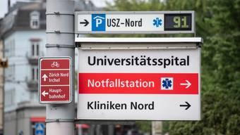 Am Universitätsspital Zürich kommen teilweise Medizinstudenten zum Einsatz.(Symbolbild)