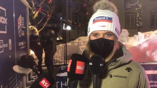 Corinne Suter über ihre Erwartungen an der Ski-WM