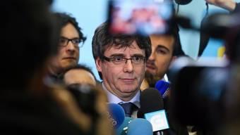 Puigdemont im belgischen Exil: Er wird wohl vorerst nicht zurückkommen.