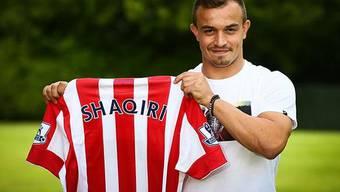 Xherdan Shaqiri wechselt zu Stoke City in die Premier League