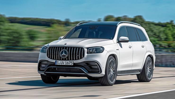 Mercedes hat GLS vor allem für den US-Markt entwickelt. Erhältlich ist er aber auch bei uns. Bild: zvg