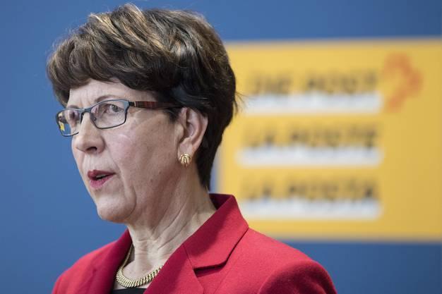 Post-Konzernchefin Susanne Ruoff machte am Sonntag ihren Rücktritt publik. Der ist offenbar am Freitag erfolgt.
