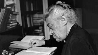 Anna Tumarkin (hier 1945 in Bern) war eine grosse Förderin der kantischen Philosophie.
