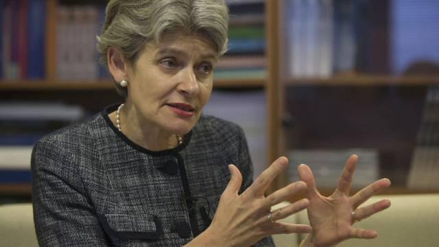 Unesco-Chefin Irina Bokowa (Archiv)