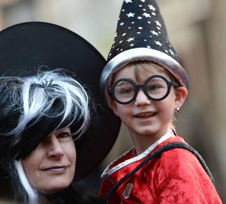 Sein Idol heisst Harry Potter: Joey kommt aus Thürnen und will mit seinen sechs Jahren ein grosser Zauberer sein.