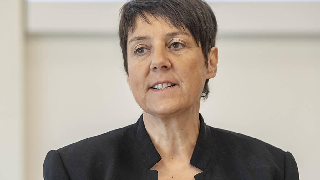Sieht Potential für raschere Coronalockerungen: die Schwyzer Frau Landammann Petra Steimen-Rickenbacher (FDP).