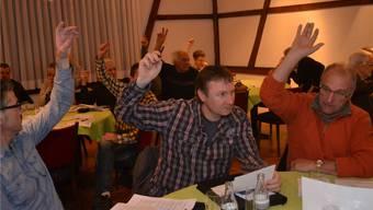 Ohne Gegenstimme: Die Abgeordneten der Mutschellengemeinden hiessen den neuen Vertrag mit Bremgarten einhellig gut. sl