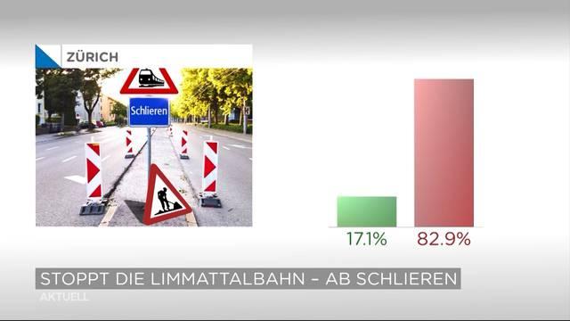 Abstimmungen: Limmattalbahn fährt bis in den Kanton Aargau
