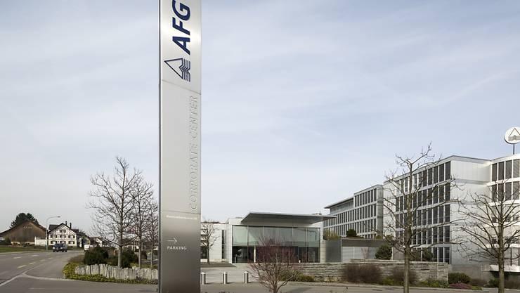 Hauptsitz der AFG in Arbon: Firmenchef Christensen geht.