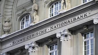Aufgrund der Verwerfungen an den Kapitalmärkten gegen Jahresende ist die Schweizerische Nationalbank (SNB) tief in die roten Zahlen gerutscht. (Archiv)