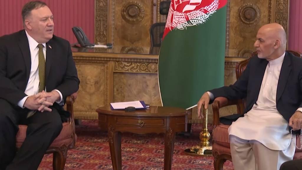 Pompeo fliegt trotz Corona-Krise nach Afghanistan