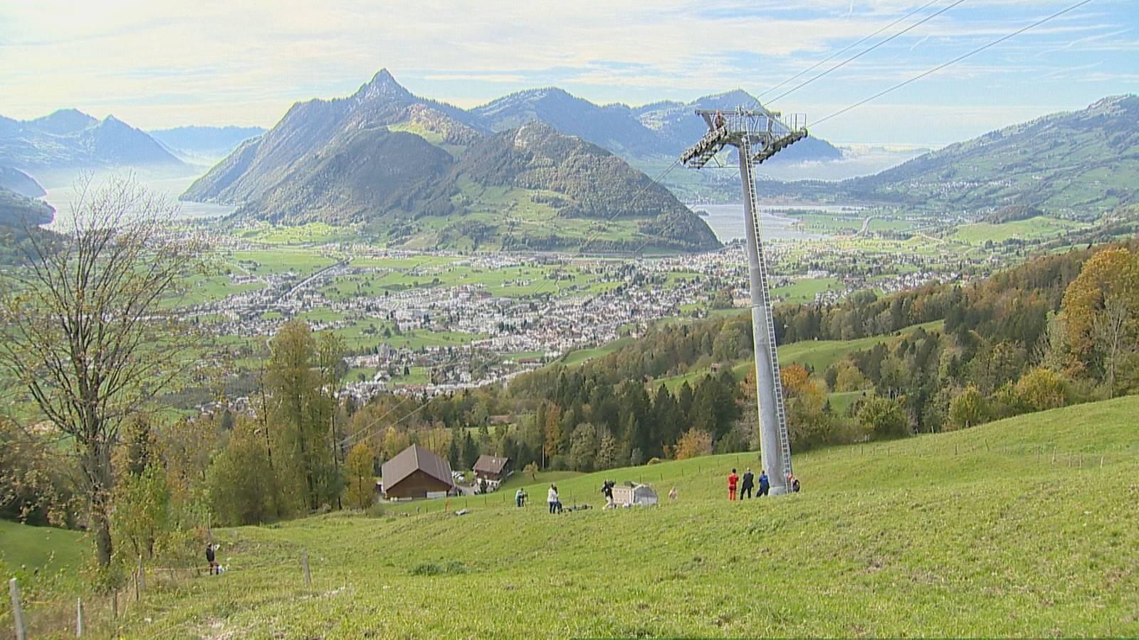 Seilbahnunfall Rotenfluebahn Schwyz (© FM1Today)