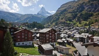 Überzeugen sollen Feriengäste nicht nur das Matterhorn, sondern auch ein Gutschein im Wert von 100 Franken.
