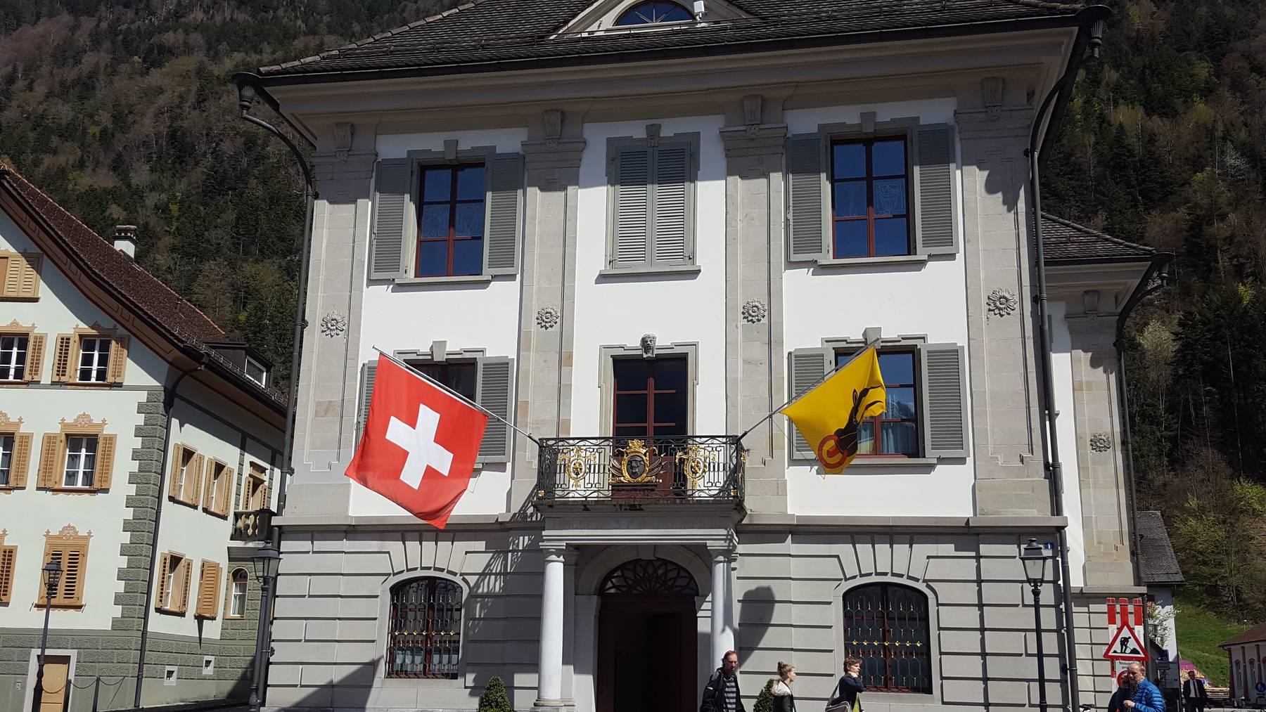 Regierungsgebäude des Kantons Uri in Altdorf