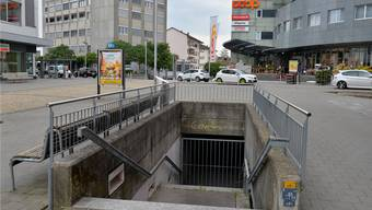 Die Unterführung vom Zytplatz zum Coop-UG-Eingang und Parkhaus ist seit 2005 geschlossen und wird auch nicht wieder geöffnet, wenn es nach Coop geht.
