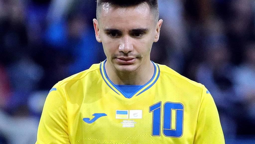 Das Trikot von Mykola Schaparenko und seiner Teamkollegen sorgte in Russland für rote Köpfe.