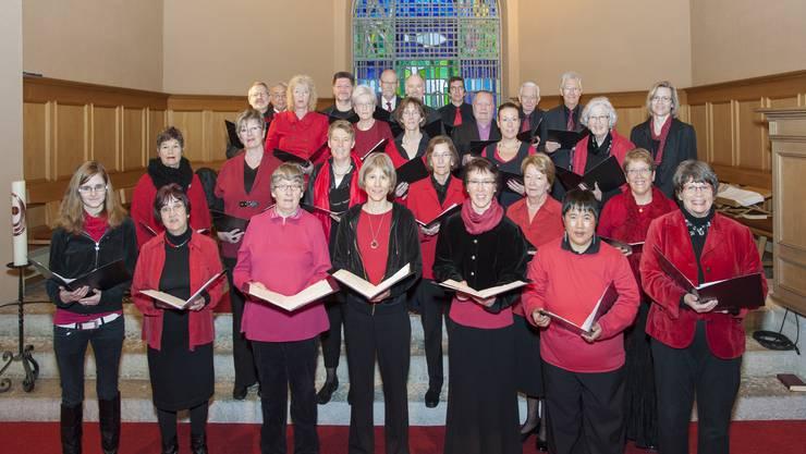 Der Kirchenchor Balsthal im vergangenen Dezember.