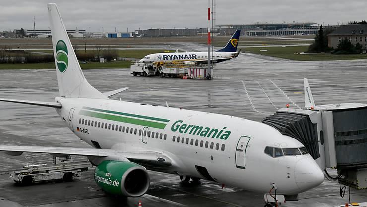 Germania in Deutschland ist pleite - doch der Schweizer Ableger fliegt noch.