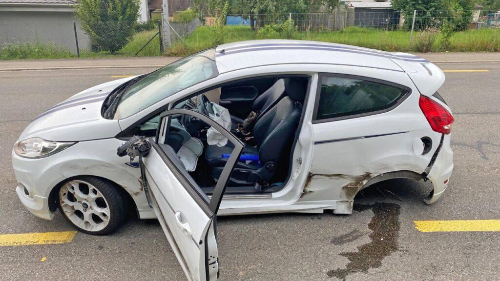 Auto gerät auf Gegenfahrbahn – Drei Verletzte in Amriswil