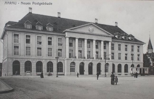 Das Postgebäude wurde in diesem Jahr eröffnet.