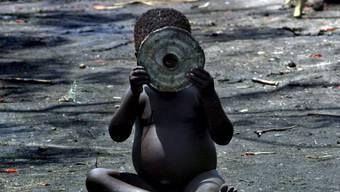 In der Kongo-Provinz Kasai sind weit über 700'000 Kinder akut mangelernährt, wie das Uno-Kinderhilfswerk Unicef mitteilte. (Archiv)
