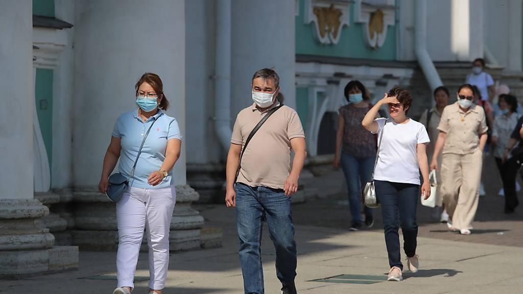 Corona-Todeszahlen in Russland erreichen neue Höchststände