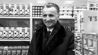 Denner-Gründer Karl Schweri (1917-2001)