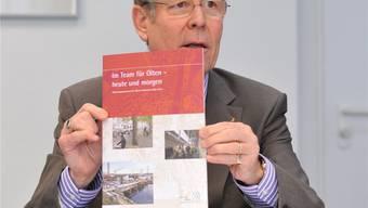 Der Name des ehemaligen Stadtpräsidenten Ernst Zingg fiel gestern bei der Besprechung des Gutachtens nicht. Trotzdem war er omnipräsent.