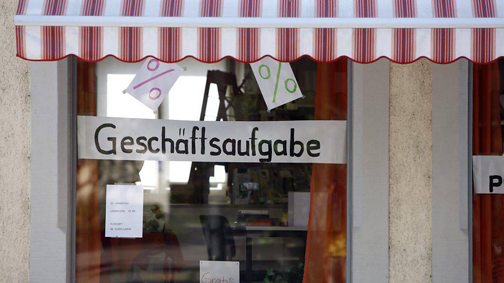 Firmenkonkurse in der Schweiz im März noch rückläufig