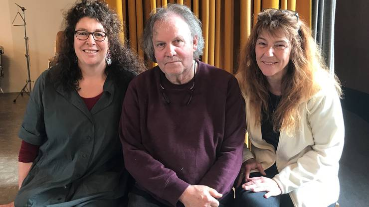 Rahel Studer, Oskar Fluri und Pia Bürki sind die tragenden Säulen des Kinderoper-Projekts.