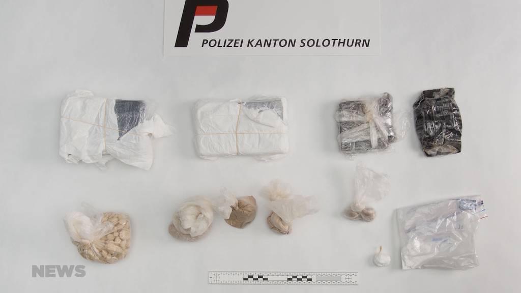Razzia in Bettlach: Polizei stellt 6 kg Drogen sicher